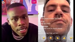 Adam22 Calls DaBaby Asks Why He Changed His Flow On New Album