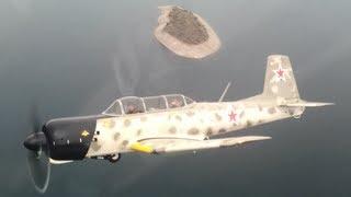 Nanchang CJ-6 Aircraft Formation Flight @ Deer Valley Airport AZ