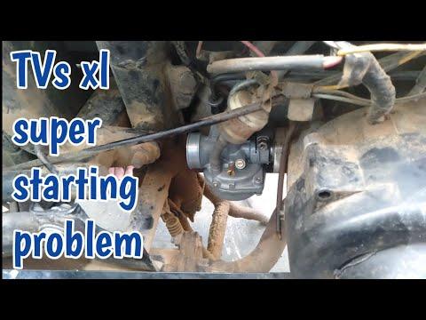 TVs xl super starting and carburetor problem solve