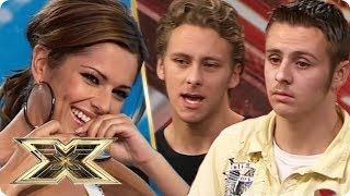THROWBACK! ANT & SEB sing 'Mysterious Girl' | The X Factor UK