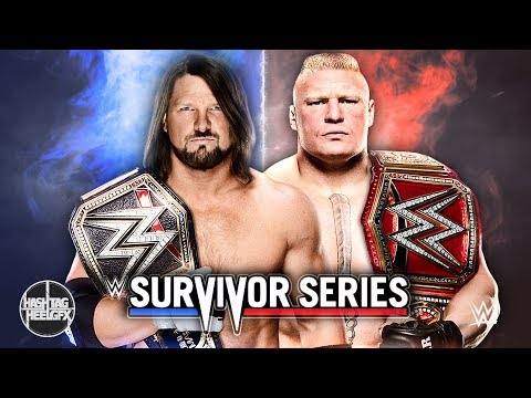 2017: WWE Survivor Series Official Theme Song -