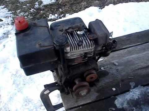 tecumseh 5hp snowblower engine old start cold start 7 HP Tecumseh Engine Diagram