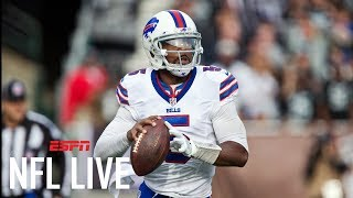 Will Tyrod Taylor be back as the Buffalo Bills QB? | NFL Live | ESPN