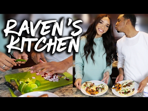 Raven's Kitchen | Cooking Tacos ft. Ogden!