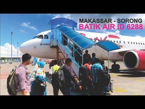 Pengalaman Terbang Dengan Batik Air Pesawat Airbus A320 Rute Makassar - Sorong ID6288