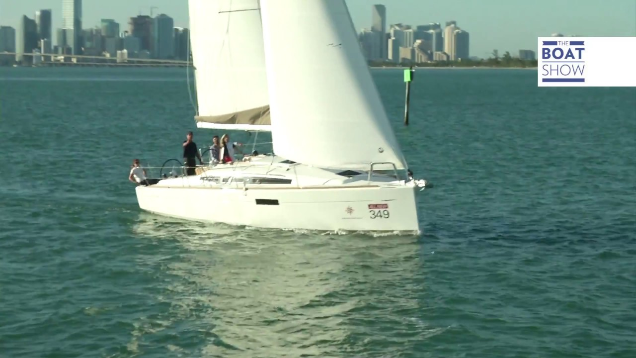 [ENG] JEANNEAU SUN ODYSSEY 349 - Review - The Boat Show
