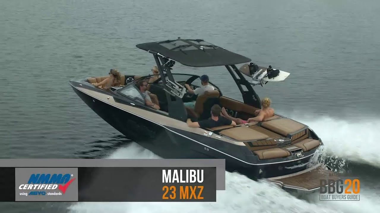 Boat Buyers Guide 2020 Malibu 23 Mxz Youtube
