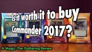 MTG - Is it worth it to buy Commander 2017? A Magic: The Gathering Review