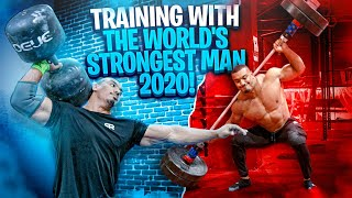 TRAINING WITH THE WORLD'S STRONGEST MAN 2020!