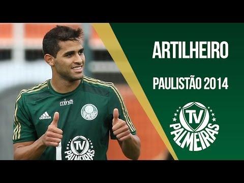 Alan Kardec, artilheiro do Campeonato Paulista 2014. Confira todos os nove gols