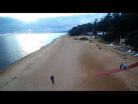 Drone View of Russian side of Gulf of Finland