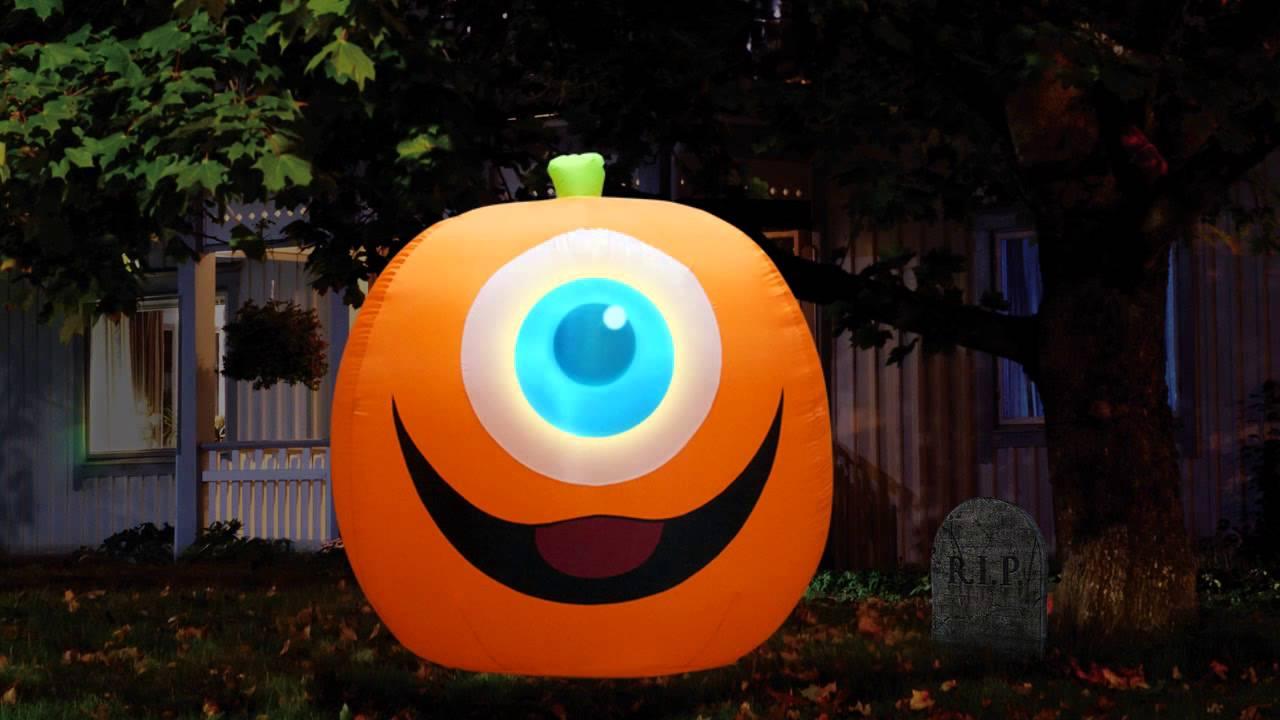Halloween Video Projection