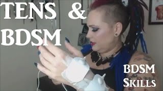 🔋 TENS Unit Tutorial For Kinky 🔌 Electricity Play ⚡ - BDSM Skills #14 - Electro Play
