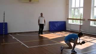 Олімпійський урок у школі села Лісниче Бершадського району. Частина 1