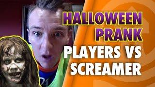 Halloween Prank - Blackpool Players vs Screamer!