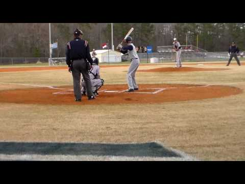 Brantley Cutler OF/LHP 2018 Single versus East Carteret High School