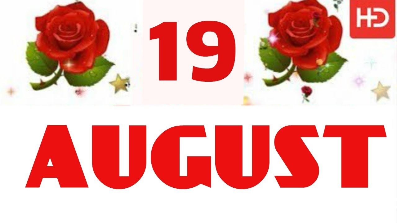 Happy Birthday | 19 August 2019 | the Complete year