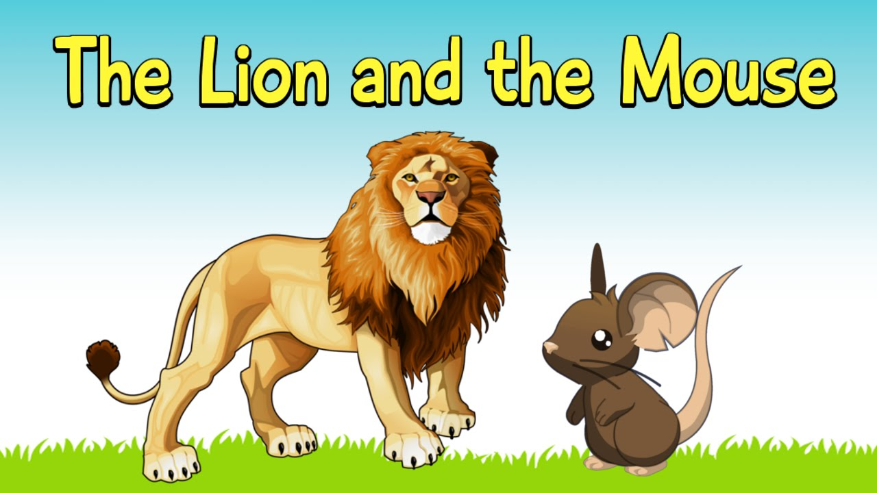 The Lion And The Mouse In English By Short Stories Youtube