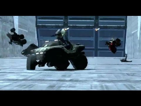 Halo Reach Speed Halo Infection Gameplay