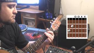 Mudvayne - World So Cold (Acoustic Tutorial)
