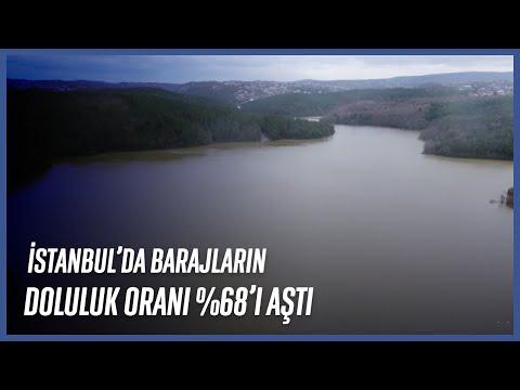 İstanbul'da Barajların Doluluk Oranı %68'i Aştı
