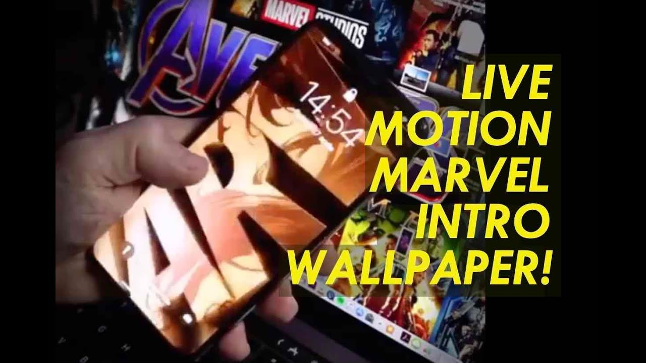 How to MARVEL Studios Intro iPhone LIVE WALLPAPER AVENGERS End Game Infinity War XR XS Max