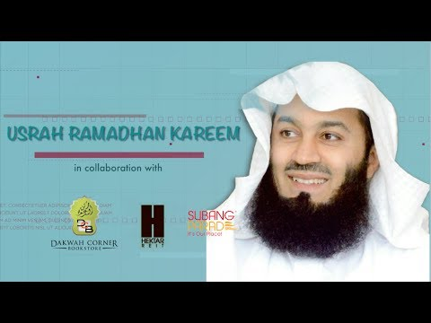 Ramadhan: Month of Mercy and Chance | Mufti Ismail Menk