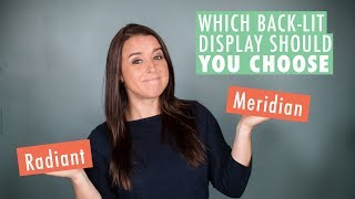 Which backlit exhibit should you choose?