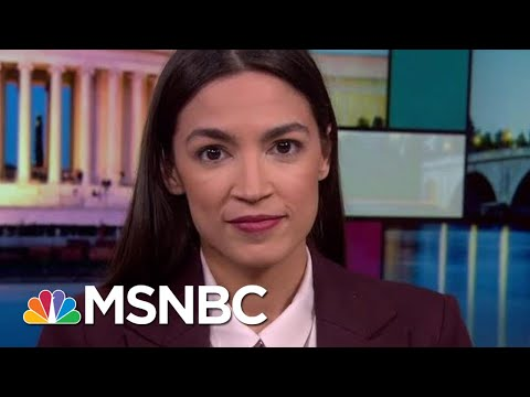 Alexandria Ocasio-Cortez Rips Trump For Systematic Attack On Immigrants | Rachel Maddow | MSNBC