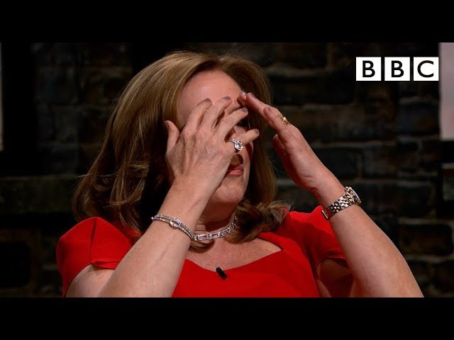 Dragons fight back tears after powerful pitch | Dragons' Den - BBC