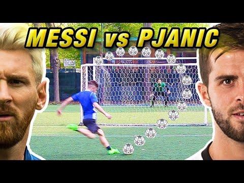 PJANIC vs MESSI - Quarti di Finale Champions LEAGUE | Free Kick Tutorial