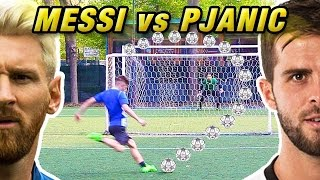 PJANIC vs MESSI - Quarti di Finale Champions LEAGUE | Free Kick Tutorial