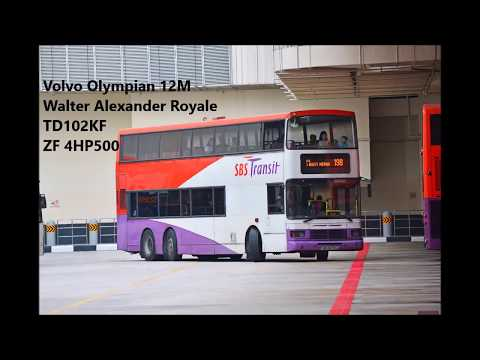 SBS Transit Volvo Olympian 3-axle SBS9670H on 198