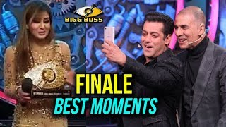 Salman Khan, Akshay Kumar, Shilpa Shinde - BEST MOMENTS - Bigg Boss 11 Finale