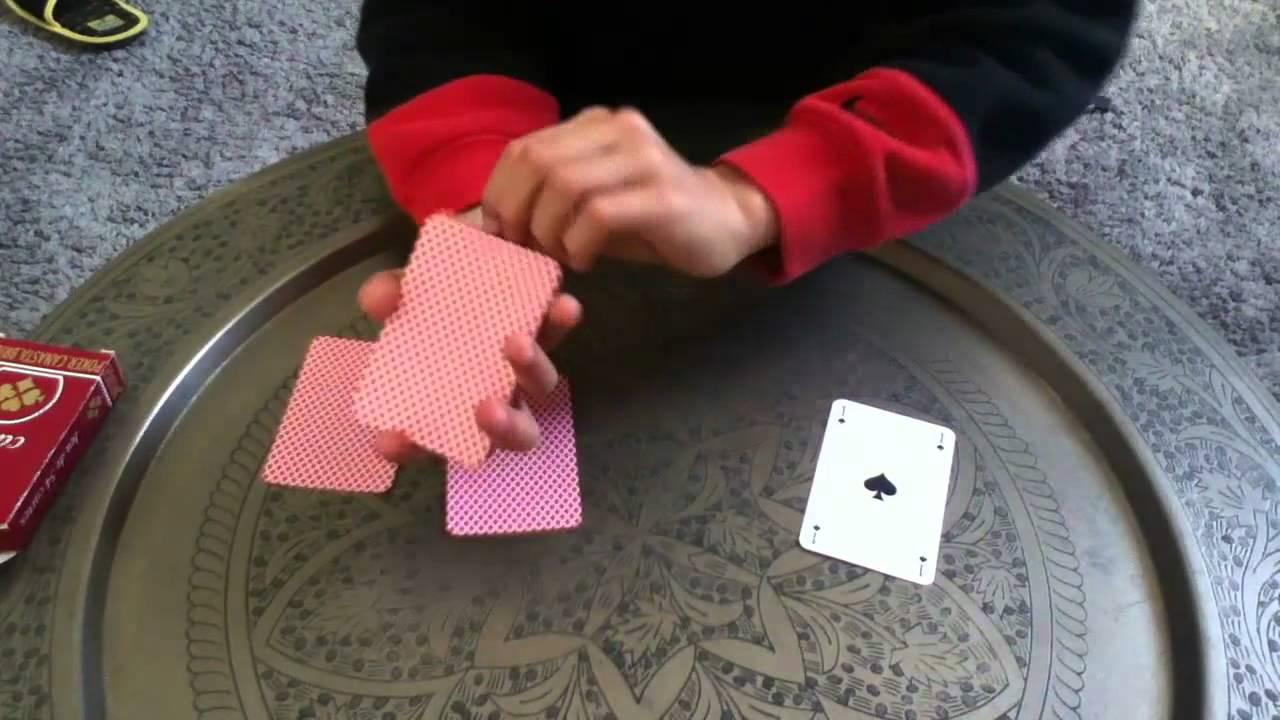 tour de magie carte roi dame valet