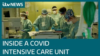 Inside one of UK's busiest Covid wards | ITV News