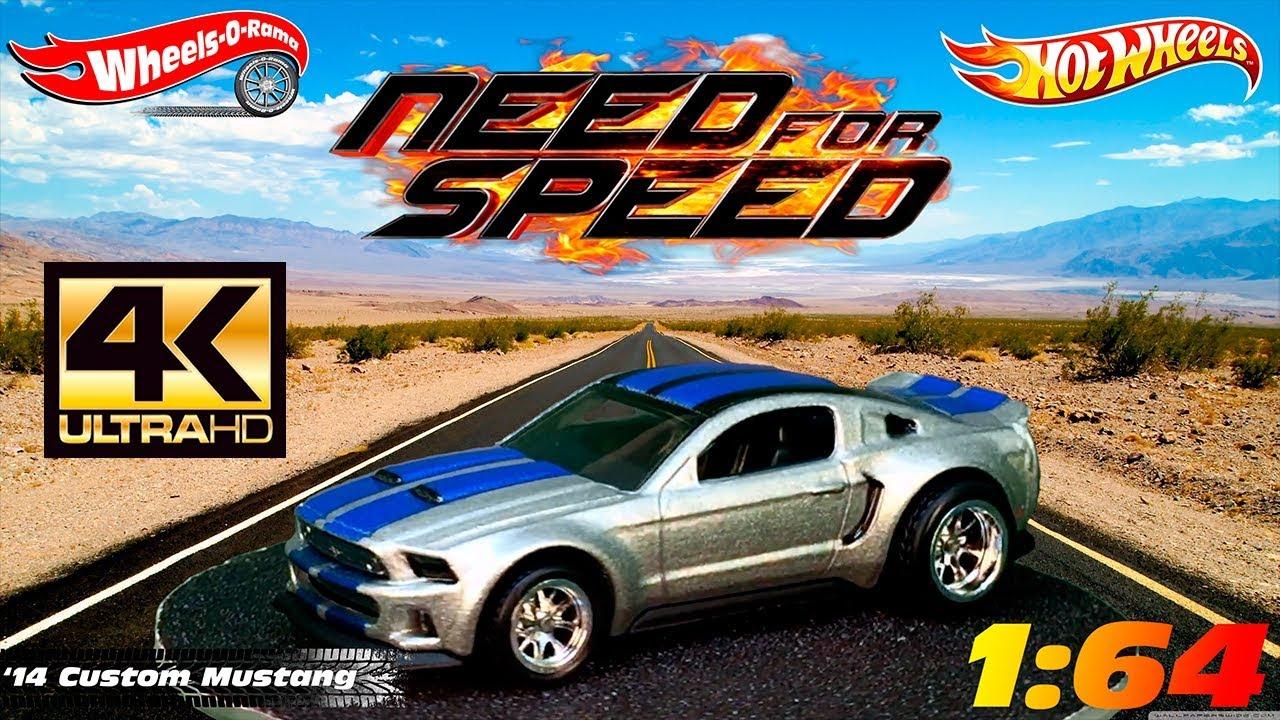 0213 14 Custom Mustang Need For Speed Hot Wheels 2014 Youtube