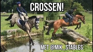 Cross training met @mik_stables bij Bronsveld