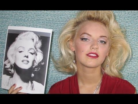 Marilyn Monroe Makeup Amp Hair YouTube