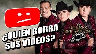 QUIEN BORRA LOS VIDEOS de  Los Plebes del Rancho de Ariel Camacho