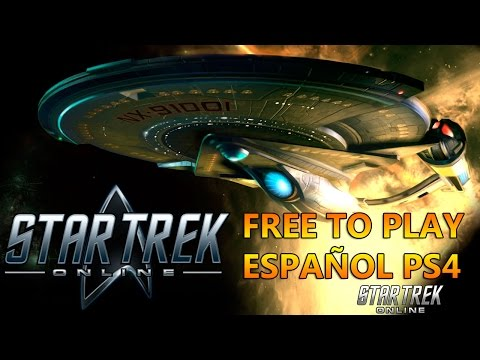 Star Trek Online gratis store PlayStation free to play directo gameplay español ps4