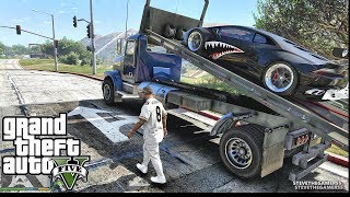 GTA 5 MOD #169 LET'S GO TO WORK (GTA 5 REAL LIFE MOD DONK) REPO JOB