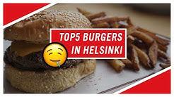 Top 5 Burgers in Helsinki