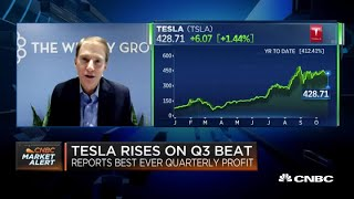 Tesla shares can go higher if you believe its more than just a car company: Former board member