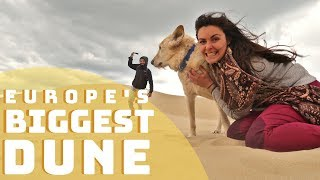Climbing the highest Dune in Europe