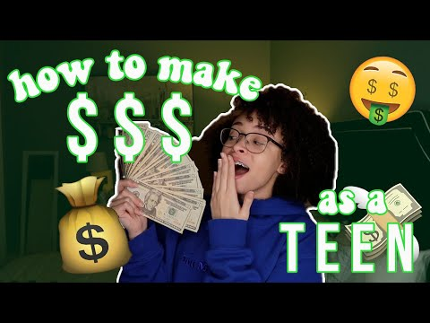 How to Make Money as a Teen! | aliyah simone