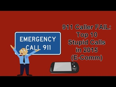 Top 10 Stupid 911 Calls in Vancouver, British Columbia, Canada for 2015