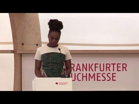 Chimamanda Ngozi Adichie speaks about believing women