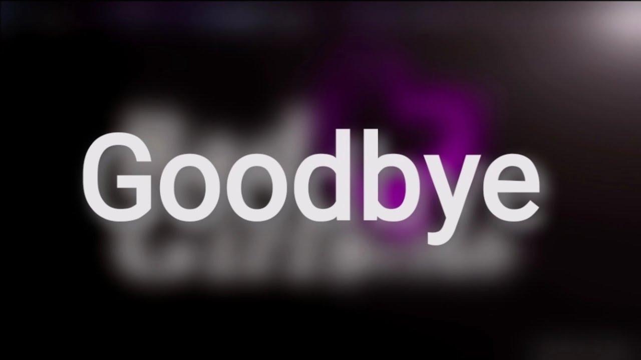 It's over...