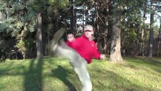 "Вадим Старов  ""Защита против Ударов Ног "" Taekwondo vs Systema Spetsnaz"